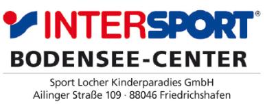 Intersport Bodensee-Center, Friedrichshafen: https://www.intersport.de/haendlersuche/sportgeschaefte-baden-wuerttemberg/88046-friedrichshafen-intersport-bodensee-center/