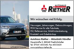 Autohaus Riether, Friedrichshafen: https://www.autohaus-riether.de/