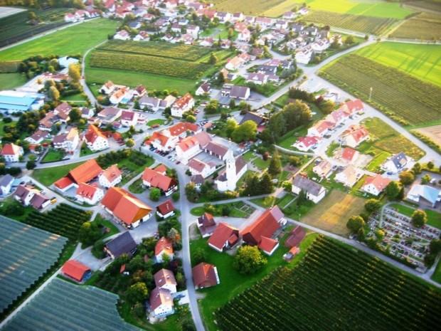 Luftaufnahme Ettenkirch
